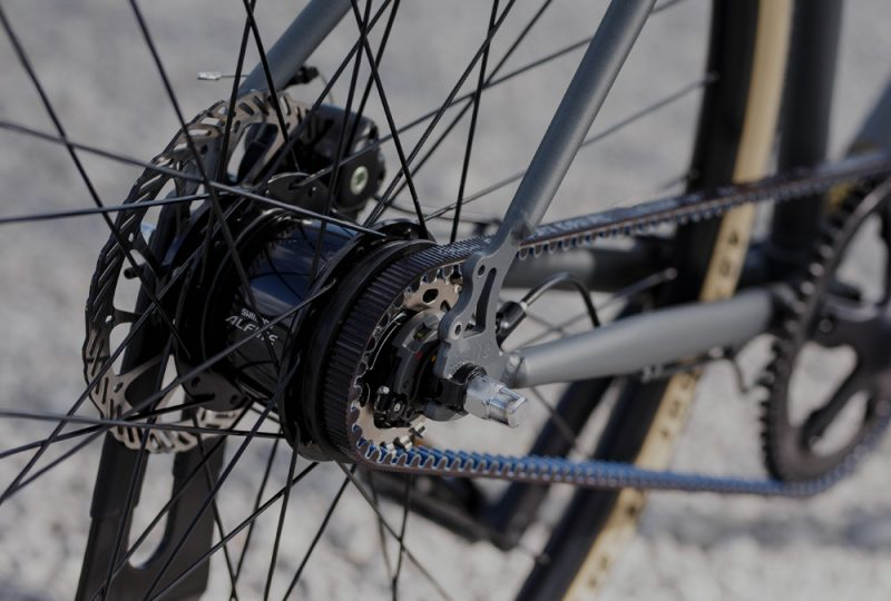 Center of multi-speed hubs